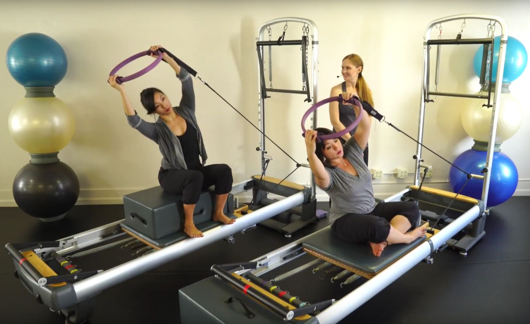 Halos on Reformer_Upside-Down Pilates_Pilates Hawaii_Pilates Honolulu
