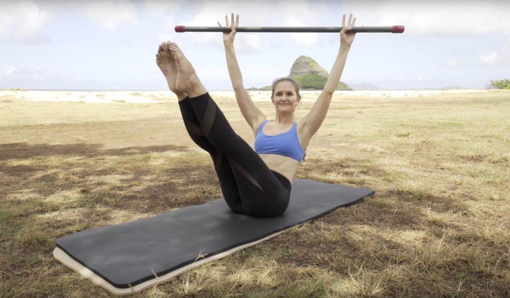 Teasers with ActivMotion Bar_Upside-Down Pilates_Pilates Hawaii_Pilates Honolulu