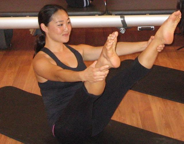 Open Leg Rocker_Upside-Down Pilates_Pilates Hawaii_Pilates Honolulu