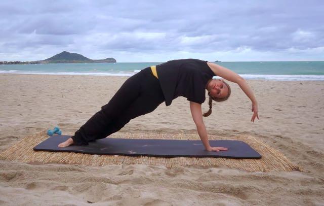 Side Bends_Upside-Down Pilates_Pilates Hawaii_Pilates Honolulu