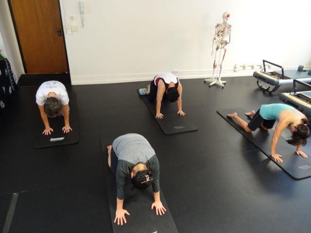 Cat Stretch_Upside-Down Pilates_Pilates Hawaii_Pilates Honolulu